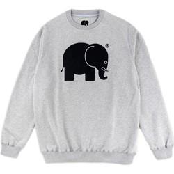 textil Herre Sweatshirts Trendsplant SUDADERA CLÁSICA GRIS  029050MBGC Grå