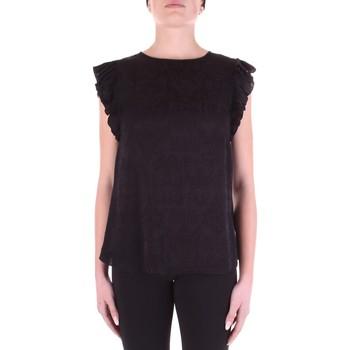 textil Dame Toppe / Bluser Versace B0HWA631-09475 Nero