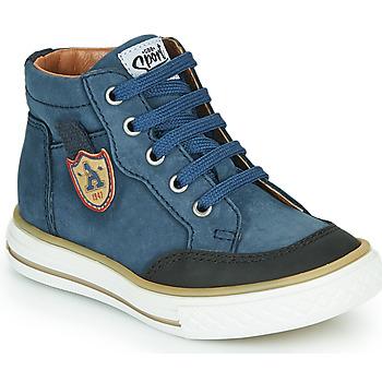 Sko Dreng Høje sneakers GBB NATHAN Blå