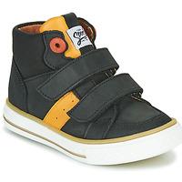Sko Dreng Høje sneakers GBB KIMMY Sort