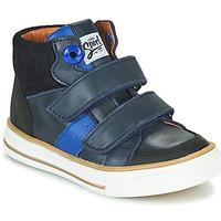 Sko Dreng Høje sneakers GBB KIMMY Blå