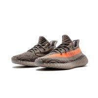 Sko Lave sneakers adidas Originals Yeezy Boost 350 V2 Beluga Steel Grey/Beluga-Solar Red