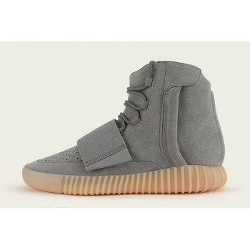 Sko Høje sneakers adidas Originals Yeezy 750 Boost Grey Gum  Light Grey/Light Grey/Gum