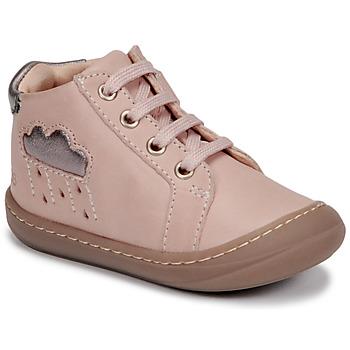 Sko Pige Høje sneakers GBB APOLOGY Pink