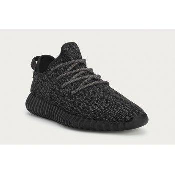 Sko Lave sneakers adidas Originals Yeezy Boost 350 V1 Pirate Black Pirate Black/Black