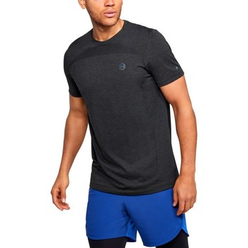 textil Herre T-shirts m. korte ærmer Under Armour Rush HG Seamless Fitted Grafit