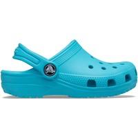 Sko Børn Træsko Crocs Crocs™ Kids' Classic Clog Digital Aqua