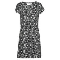 textil Dame Korte kjoler Only ONLNOVA Hvid / Sort