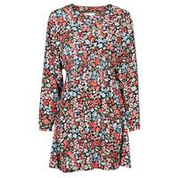 textil Dame Korte kjoler Only ONLTAMARA Rød / Sort