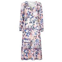 textil Dame Lange kjoler Only ONLZOE Hvid / Flerfarvet