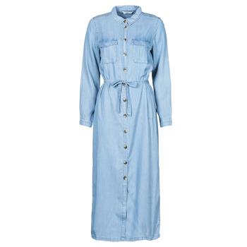 textil Dame Lange kjoler Only ONLCASI Blå / Medium