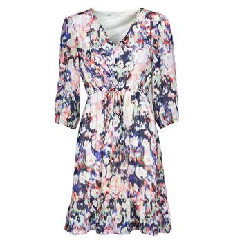 textil Dame Korte kjoler Only ONLZOE Hvid / Flerfarvet