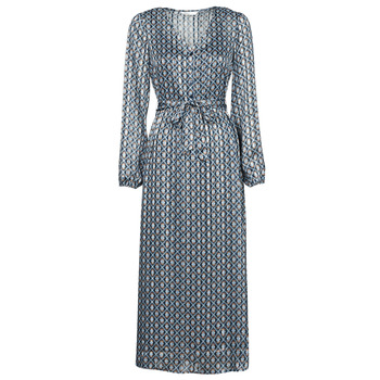 textil Dame Lange kjoler Only ONLMADDI Marineblå