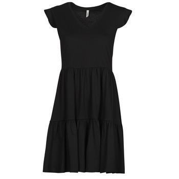 textil Dame Korte kjoler Only ONLMAY Sort
