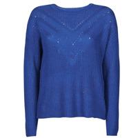 textil Dame Pullovere Only ONLTRIXIE Blå