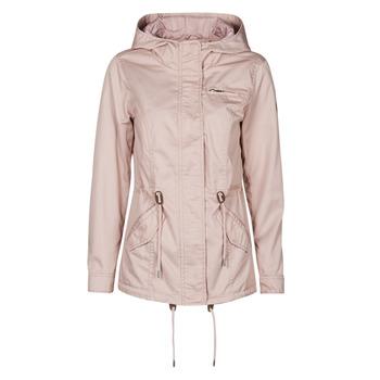 textil Dame Parkaer Only ONLLORCA Pink