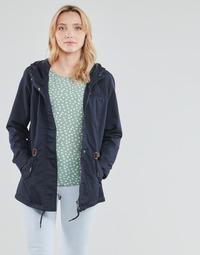 textil Dame Parkaer Only ONLLORCA Marineblå