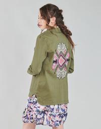 textil Dame Jakker / Blazere Only ONLAUDREY Kaki
