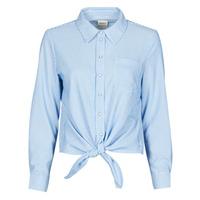 textil Dame Skjorter / Skjortebluser Only ONLLECEY Blå