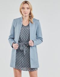 textil Dame Frakker Only ONLSOHO Blå