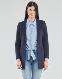 textil Dame Jakker / Blazere Only ONLBAKER-LINEA Marineblå