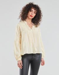 textil Dame Toppe / Bluser Only ONLNEW ELISA Beige