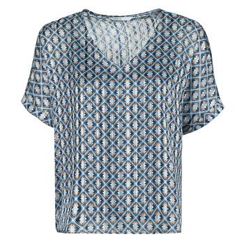 textil Dame Toppe / Bluser Only ONLMADDI Marineblå