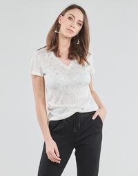 textil Dame Toppe / Bluser Only ONLSTEPHANIA Hvid