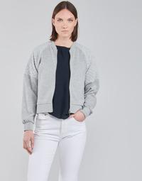 textil Dame Sweatshirts JDY JDYNAPA L/S RAGLAN BOMBER JRS Grå