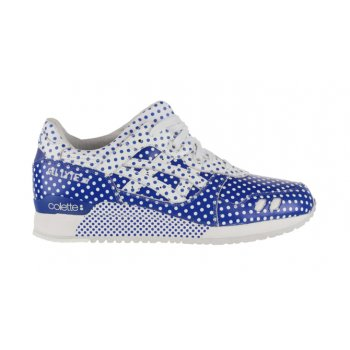 Sko Lave sneakers Asics Gel Lyte 3 x Colette Dark Blue/White