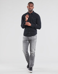 textil Herre Lige jeans G-Star Raw 3301 STRAIGHT Grå