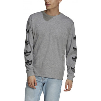 Langærmede T-shirts adidas  Shmoofoil logo ls tee