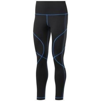 textil Dame Leggings Reebok Sport Wor Myt Stitch Tight Sort