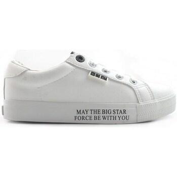 Sko Dame Lave sneakers Big Star EE274316 Hvid