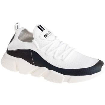 Sko Dame Lave sneakers Big Star FF274A052 Hvid, Sort