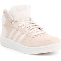 Sko Dame Høje sneakers adidas Originals Adidas Hoops 2.0 MID EE7894 beige