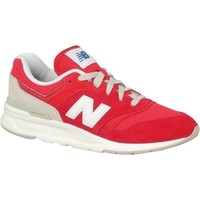 Sko Børn Lave sneakers New Balance 997 Hvid, Rød