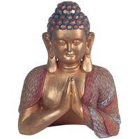 Indretning Små statuer og figurer Signes Grimalt Bedende buddha Dorado