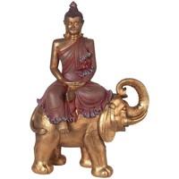 Indretning Små statuer og figurer Signes Grimalt Buddha On Elephant Dorado