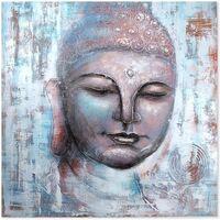 Indretning Malerier og lærreder Signes Grimalt Buddha maleri Multicolor