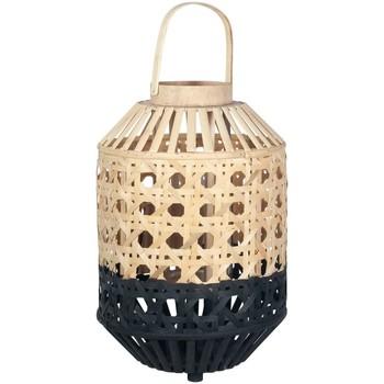 Indretning Lanterner Signes Grimalt Naturlig Bambuslygte Negro