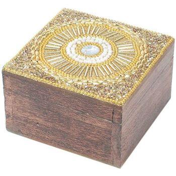 Indretning Kufferter og opbevaringskister Signes Grimalt Firkantet æske smykkeskrin Dorado