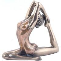 Indretning Små statuer og figurer Signes Grimalt Yoga-Pigeon Pose Dorado