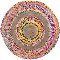 Indretning Tæpper Signes Grimalt Rundt tæppe Multicolor