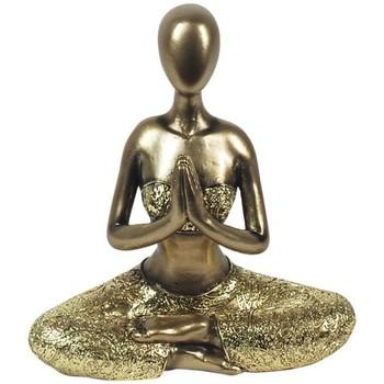 Indretning Små statuer og figurer Signes Grimalt Yoga figur Dorado