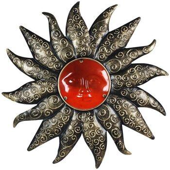 Indretning Malerier og lærreder Signes Grimalt Metal Sun Med Krystal Gris