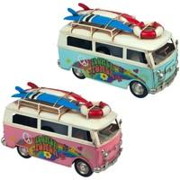 Indretning Små statuer og figurer Signes Grimalt Bus 2 forskellige sæt 2U Multicolor