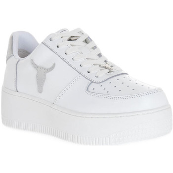 Sko Dame Sneakers Windsor Smith RICH BRAVE WHITE SILVER PERLISHED Bianco