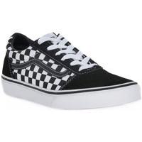 Sko Dreng Sneakers Vans PVJ Y ATWWOD CHECHERED Nero