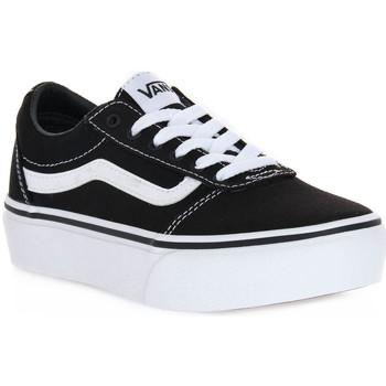 Sko Pige Sneakers Vans 187 WARD PLATFORM Nero